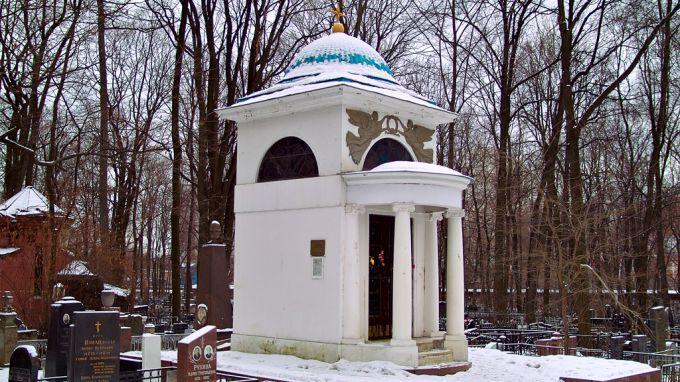 Часовня Эрлангеров на Введенском кладбище