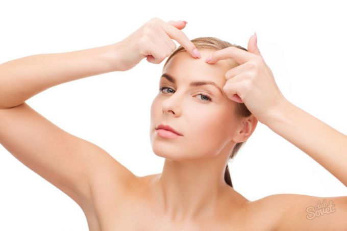 How to easily get rid of acne on the forehead