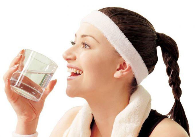 Вода - залог похудения