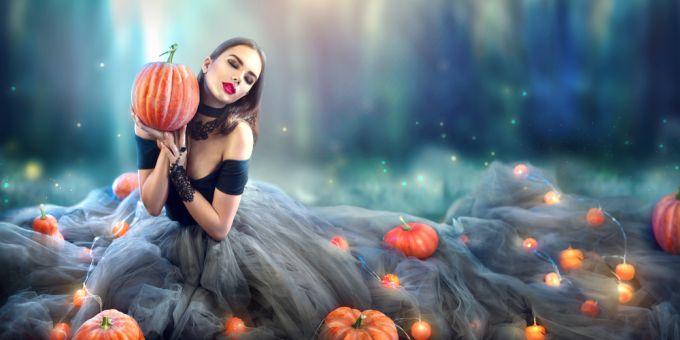 Как создать атуальные хэллоуинские образы для фотосессий
