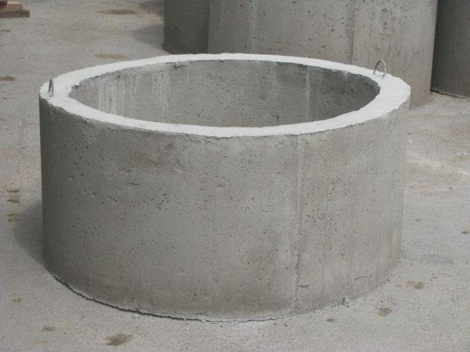 Отливка бетонных колец своими руками