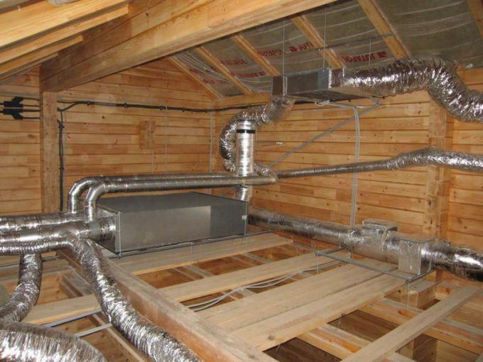 Особенности монтажа приточной вентиляции загородного дома