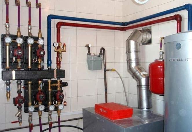 Монтаж системы отопления закрытого типа