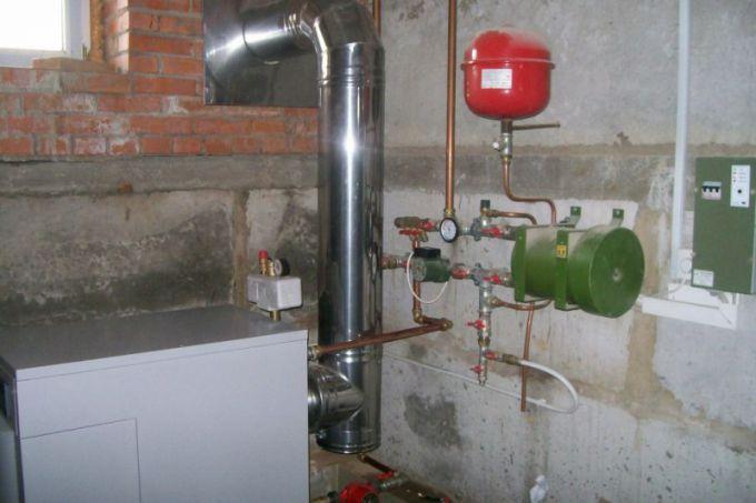 Дымоход для газового котла: устройство и требования к установке