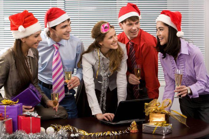Как организовать Новый год на работе