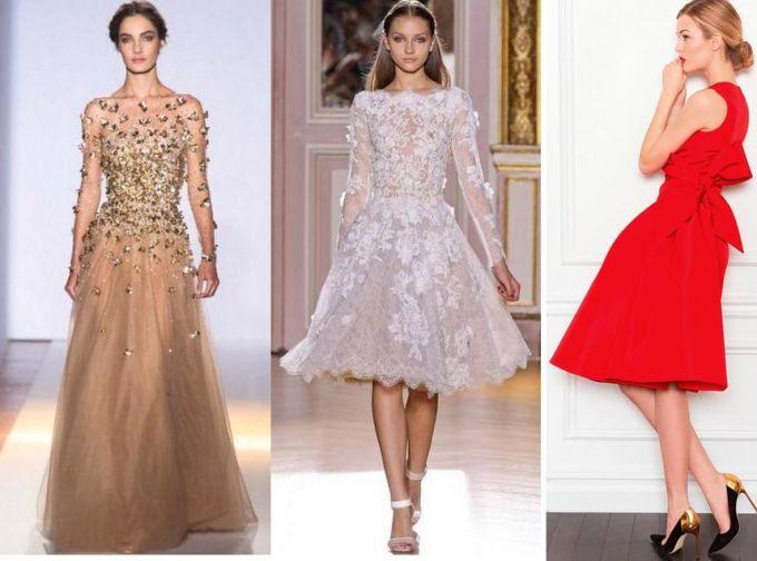 Принципы выбора платья для празднования Нового года