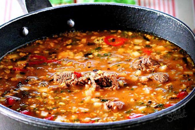 как приготовить суп харчо рецепты