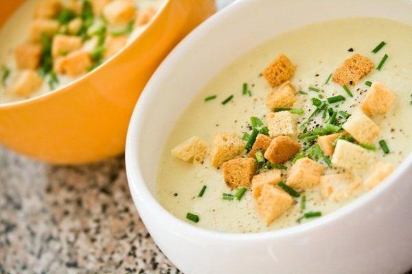Как приготовить суп-пюре из картофеля и яиц