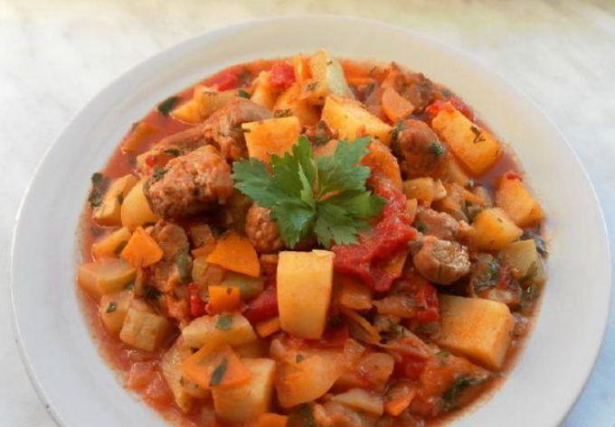 Как приготовить вкусное мясное рагу