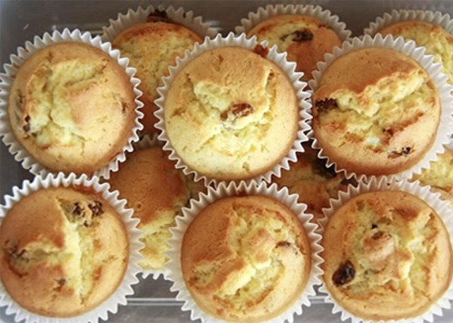 Как приготовить диетические творожные кексы с изюмом: пошаговый рецепт