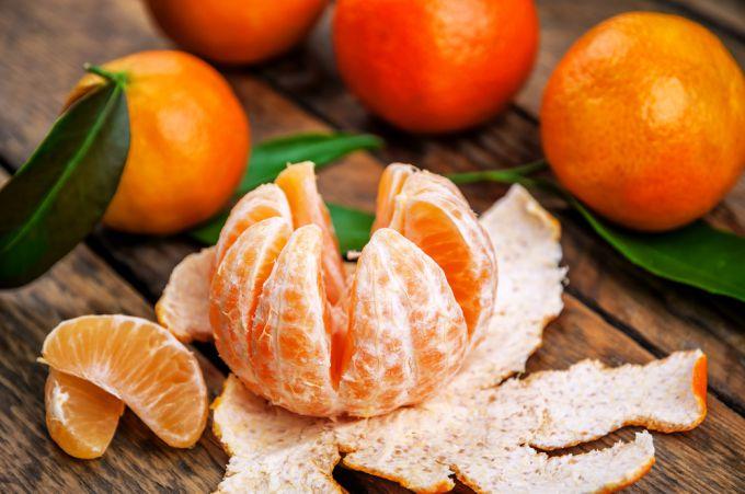 Как правильно выбрать мандарины при покупке