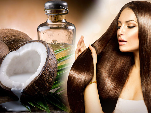 How to apply coconut oil for hair