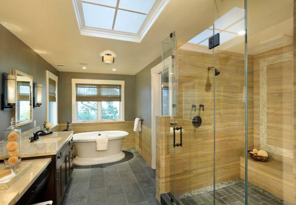 Ванная комната с душевой кабиной: варианты дизайна