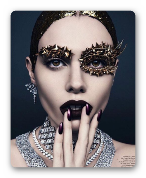 How to create a make-up for New Year's Eve. The best examples of New Year's make-up