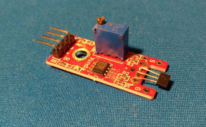 Как подключить датчик Холла к Arduino