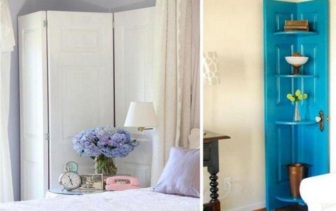 Три простых способа использования старой двери в интерьере квартиры или дома