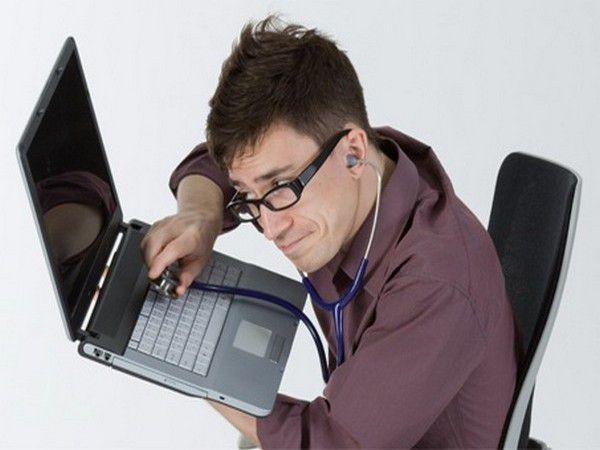 Что делать если ноутбук не работает