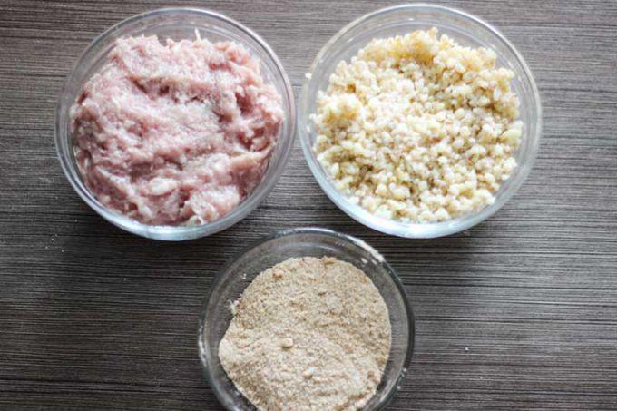 Ингредиенты для аранчини