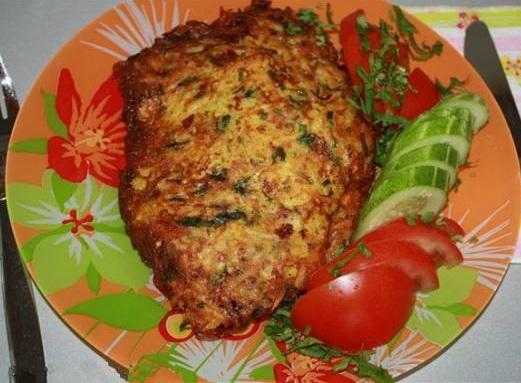 Курица в картофельной корочке