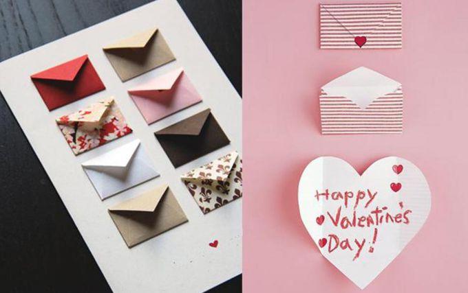 Делаем открытку с пожеланиями для любимого