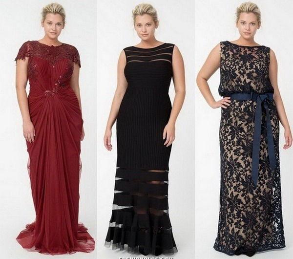 Вечерний платья для полных женщин