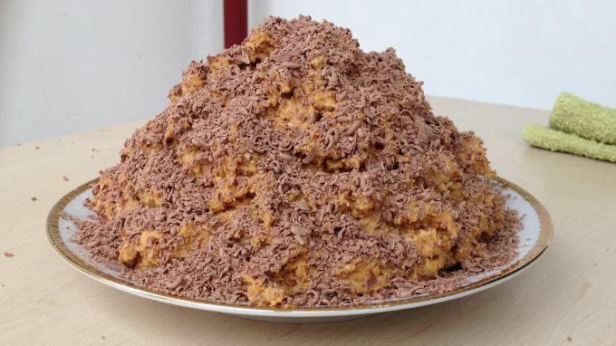 """Как сделать торт """"Муравейник"""" из печенья"""