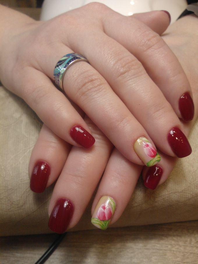 Нежный весенний дизайн ногтей: пошаговый мастер-класс