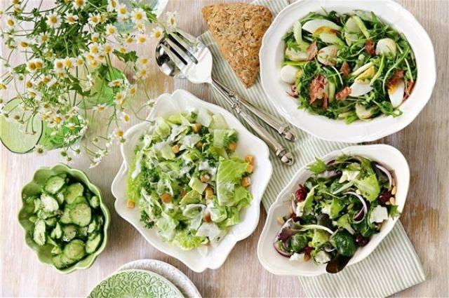Постный стол: 3 рецепта салатов и рецепт постного майонеза