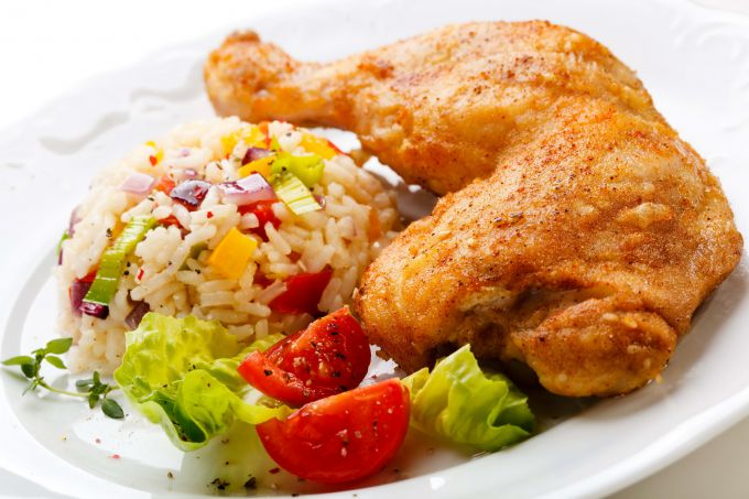 Как приготовить цыпленка в белом вине