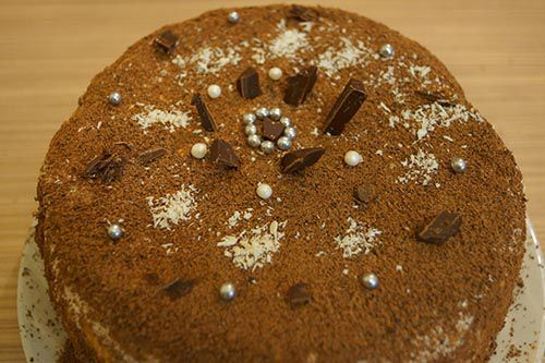 Торт из печенья.