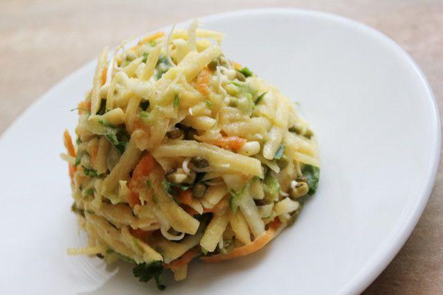 Рецепт постного варианта салата «Оливье»