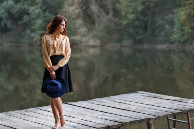 Как выбрать платье с юбкой колоколом для женщин