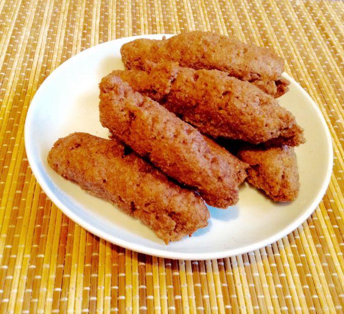 низкокалорийное печенье из отрубей