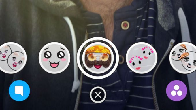 Фильтры и линзы в Snapchat
