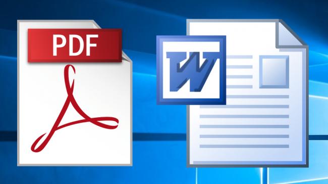 Конвертация PDF-файла в формат Word