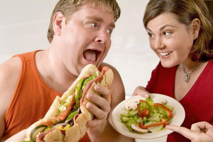 Как нужно питаться при ожирении