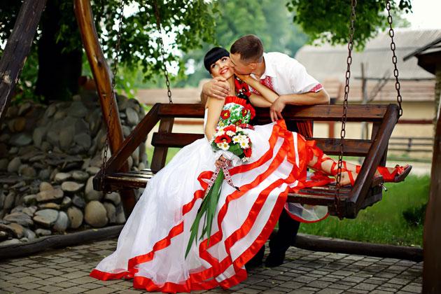 Свадебные платья в белорусском стиле
