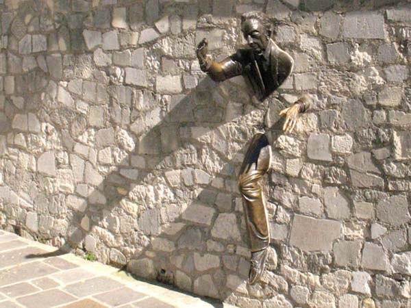 как проходить сквозь стены