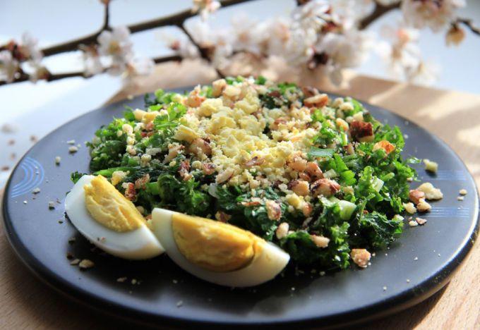 Как приготовить салаты с крапивой