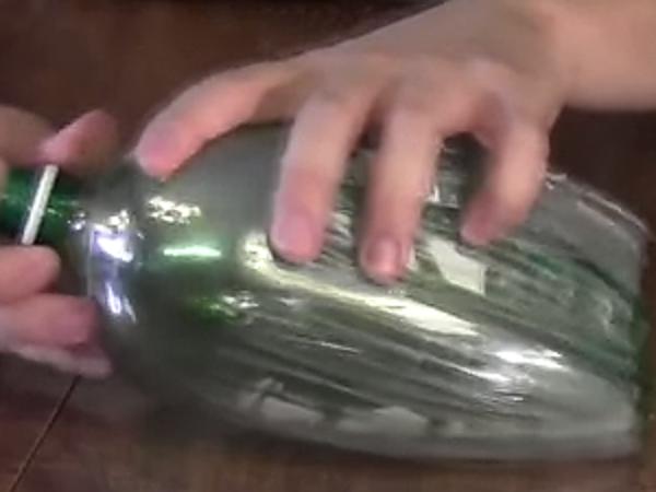 метелка из бутылок