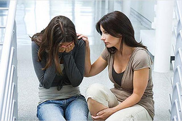 Как помочь дочери после расставания - совет для мамы