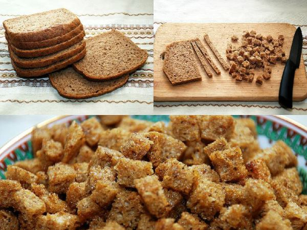 сухари из хлеба