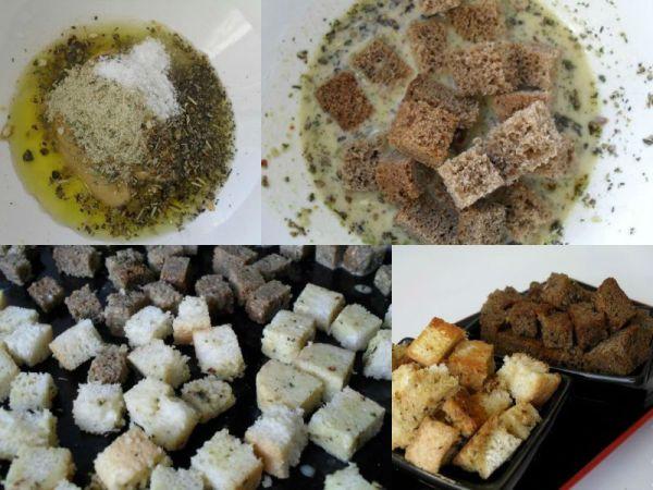 как сушить сухари в духовке