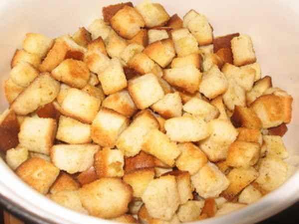 сухари из хлеба в духовке