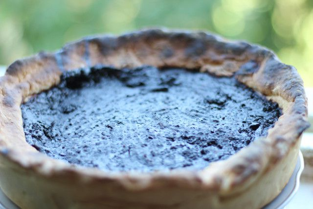 Как приготовить пирог с шелковицей без дрожжей и без яиц