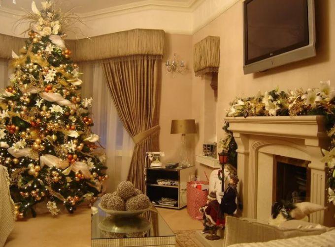 Как украсить дом и елку к Новому году 2018