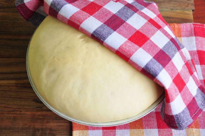 Заварное тесто на кпитке для вареников, пельменей.