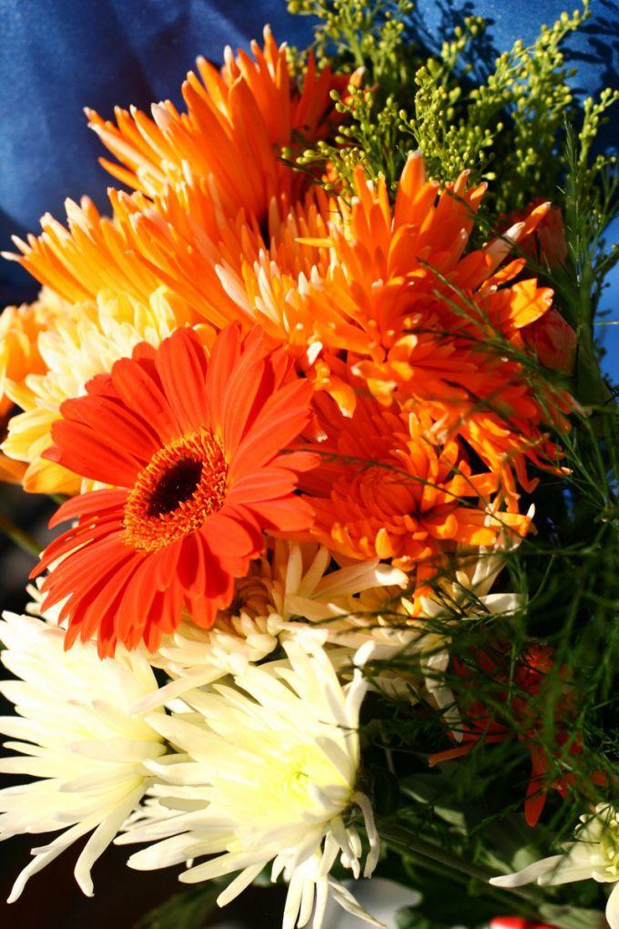 bouquet on September 1
