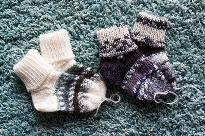 Как вязать пятку носка разными способами