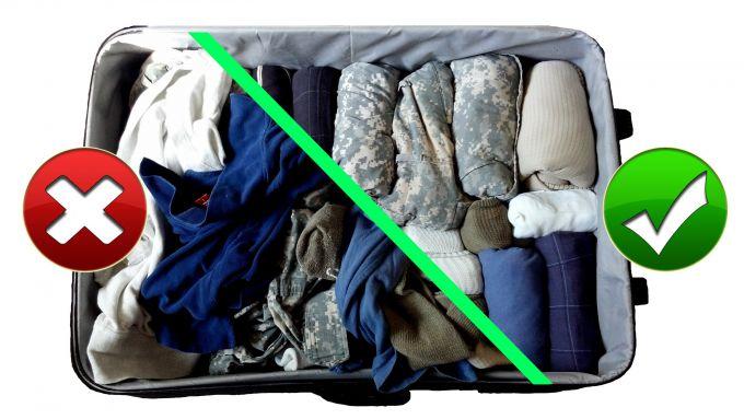 Как правильно собирать чемодан: 10 советов